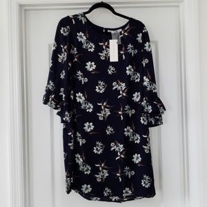 New Collective Concepts Navy Floral Dress